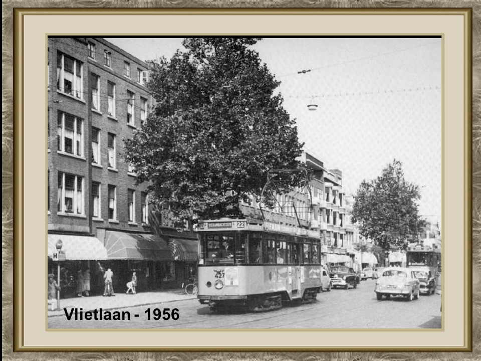 Vlietlaan - 1956