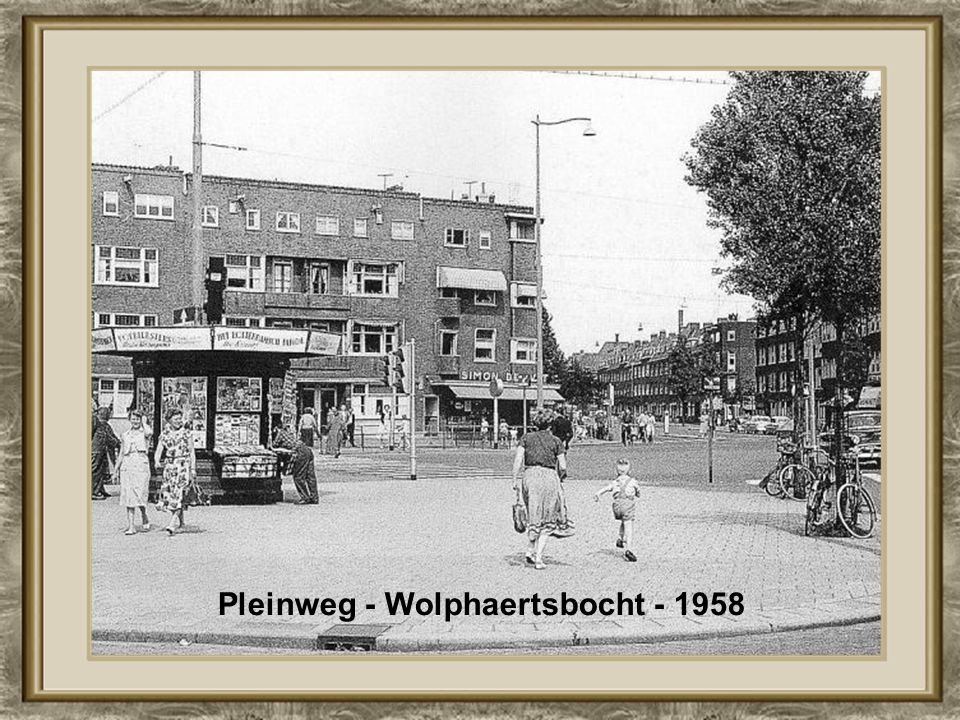 Pleinweg - Wolphaertsbocht - 1958