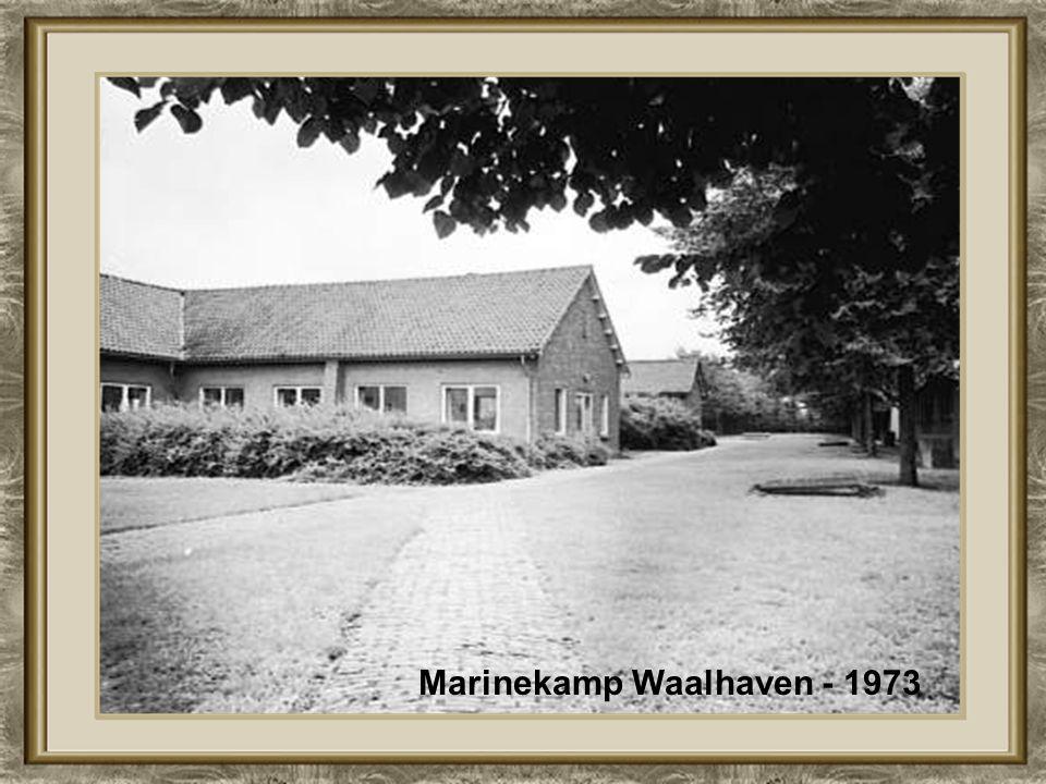 Marinekamp Waalhaven - 1973