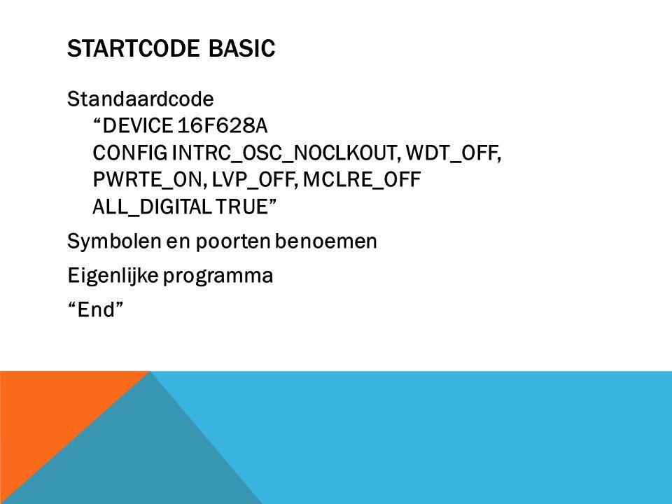 Startcode basic