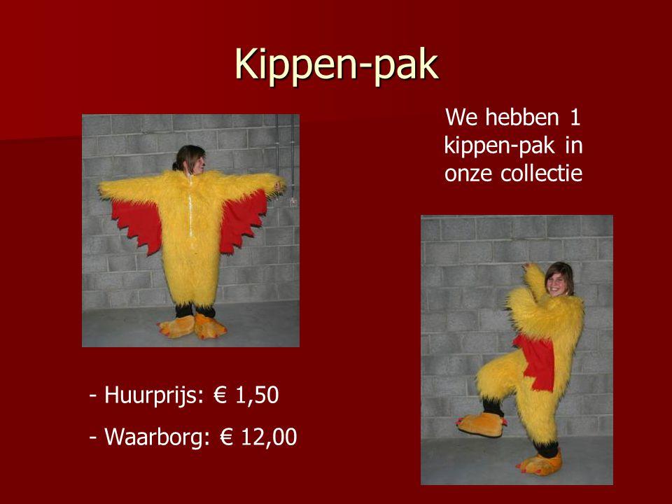 We hebben 1 kippen-pak in onze collectie