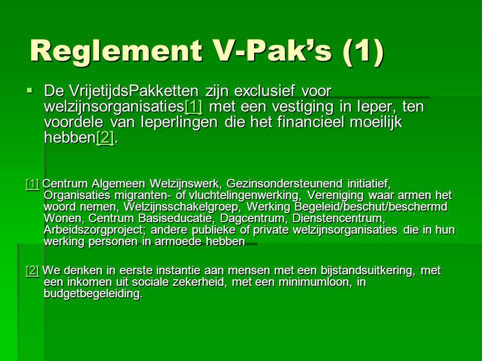 Reglement V-Pak's (1)