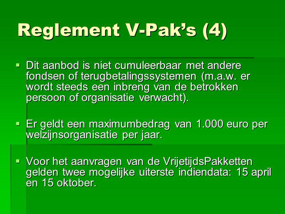 Reglement V-Pak's (4)