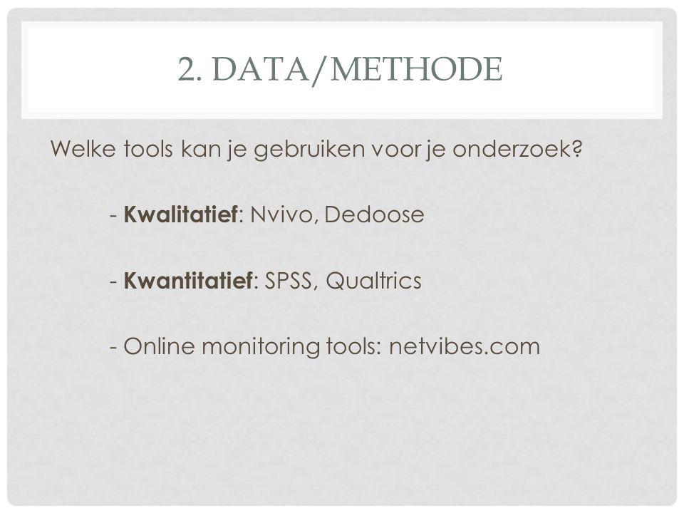 2. DATA/METHODE