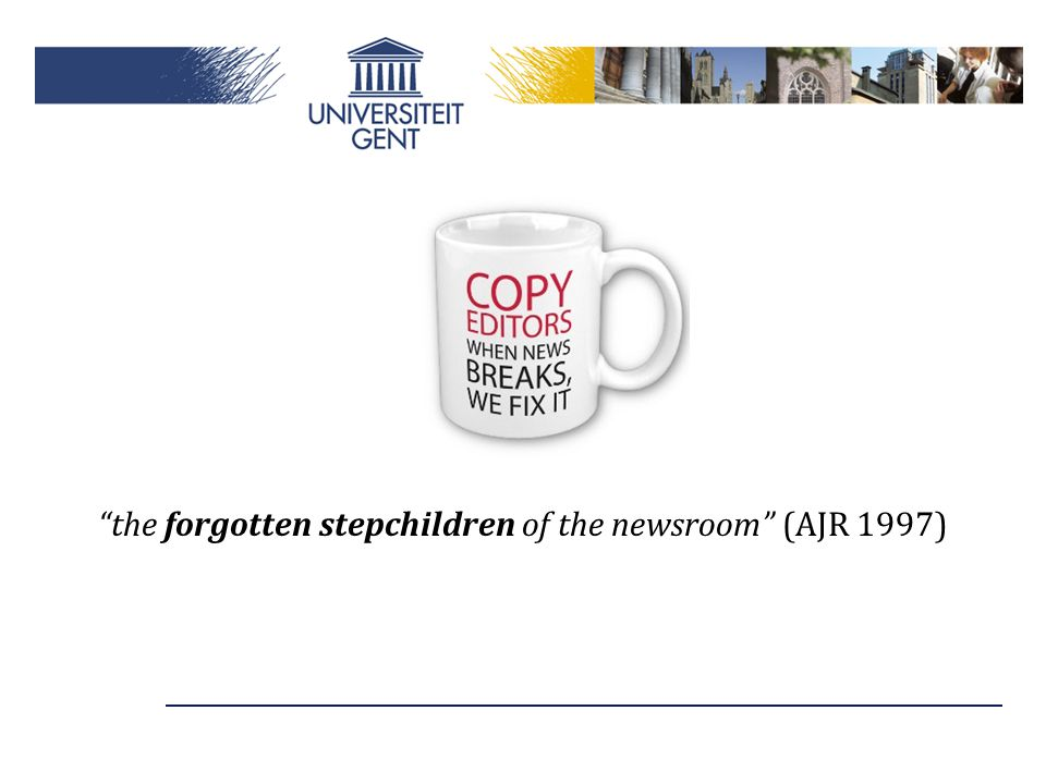 the forgotten stepchildren of the newsroom (AJR 1997)