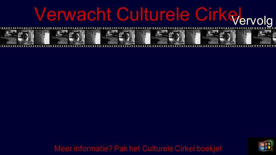 Verwacht Culturele Cirkel