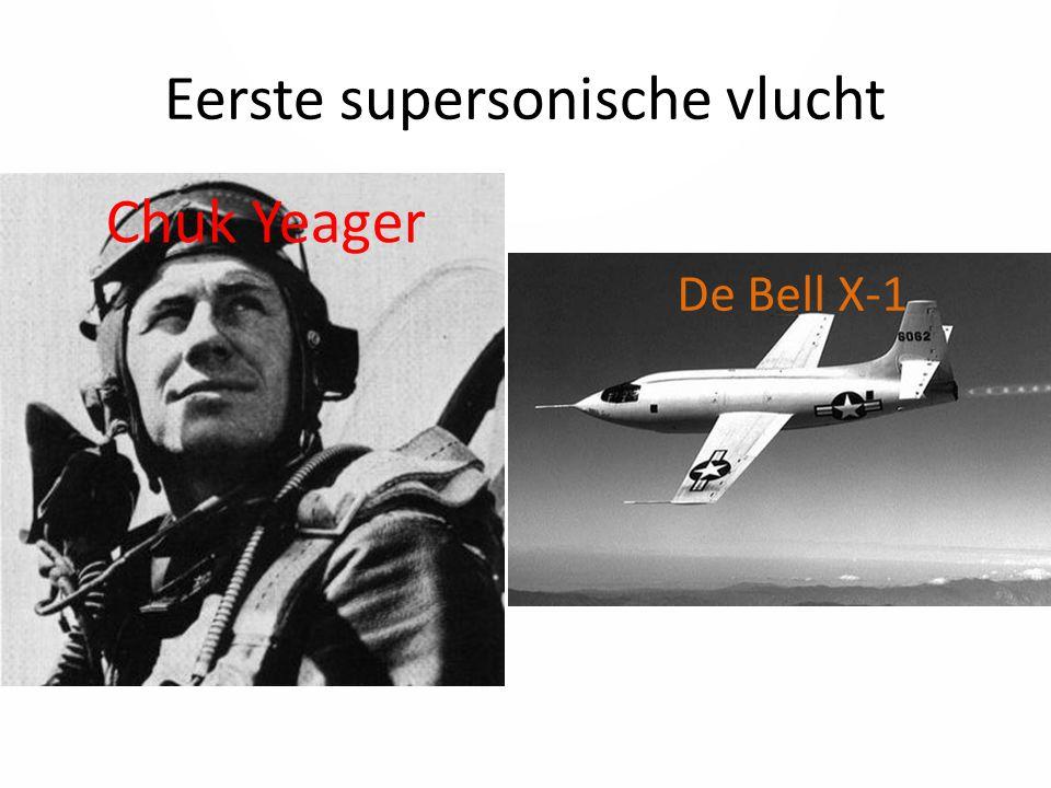 Eerste supersonische vlucht
