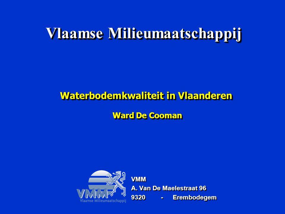 Waterbodemkwaliteit in Vlaanderen Ward De Cooman