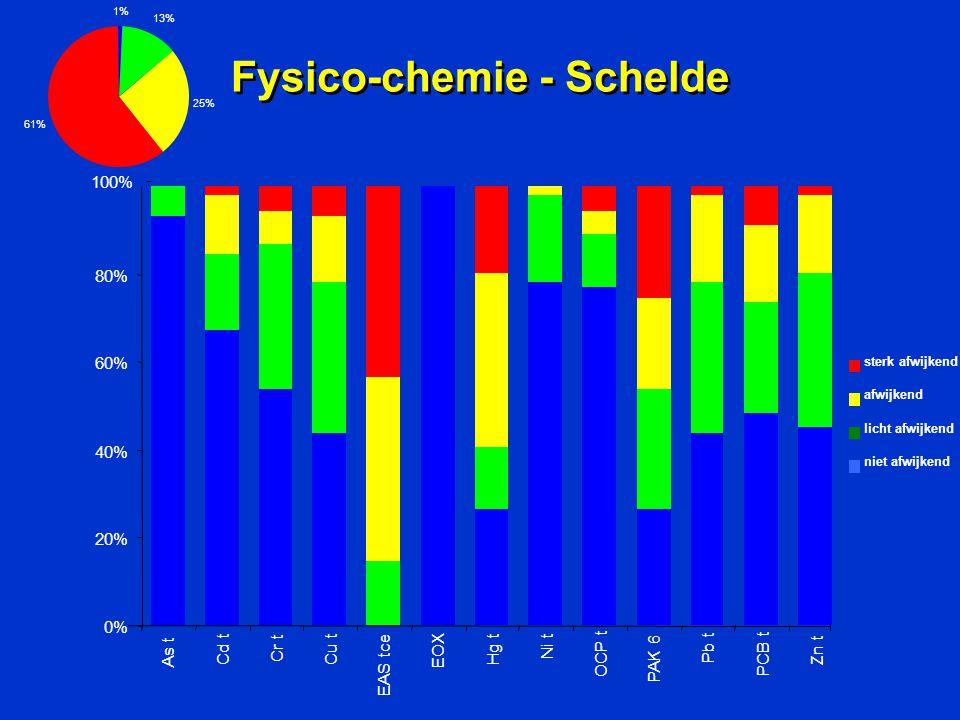 Fysico-chemie - Schelde