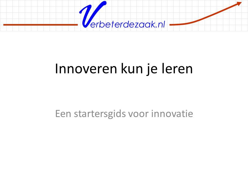 Een startersgids voor innovatie