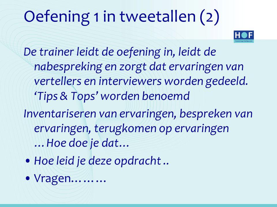 Oefening 1 in tweetallen (2)