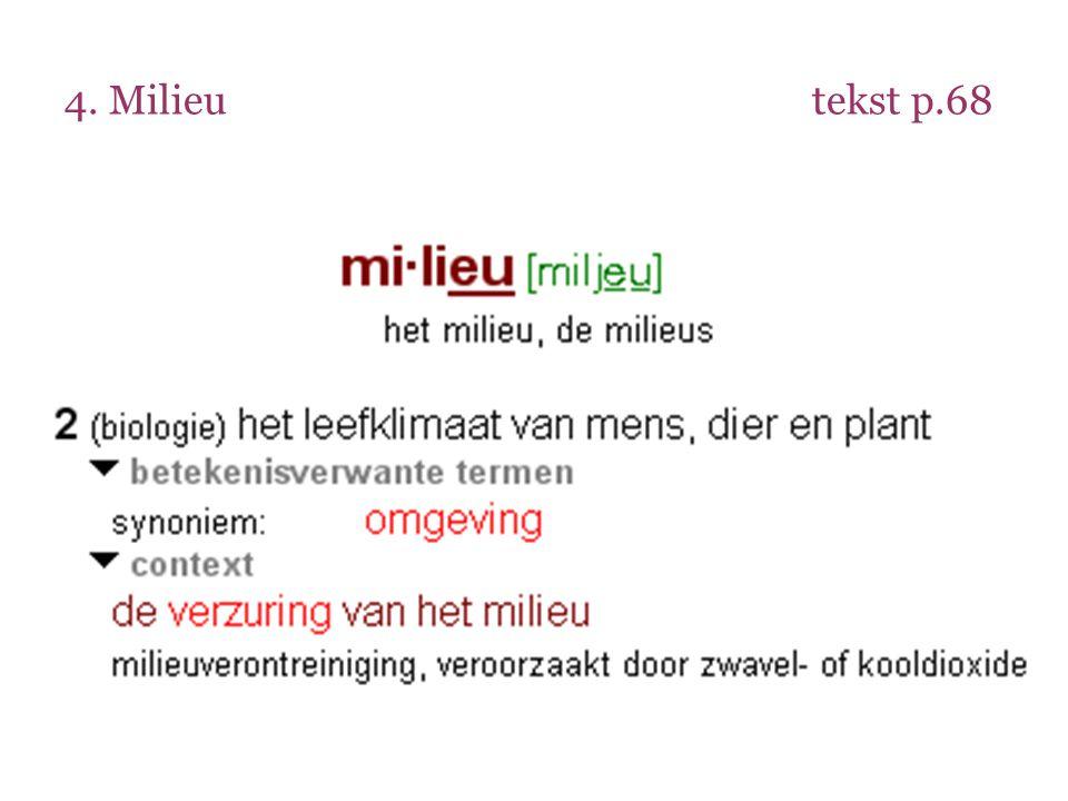 4. Milieu tekst p.68