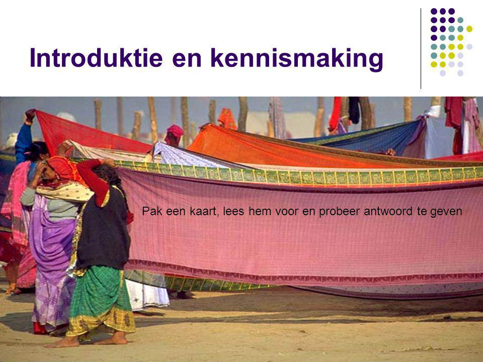Introduktie en kennismaking