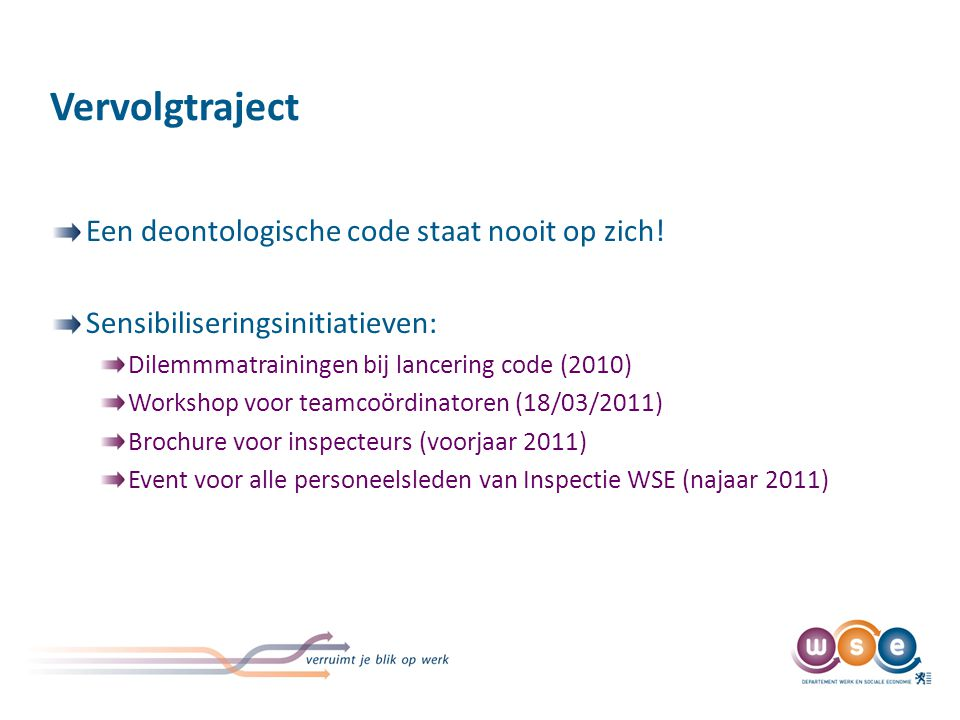 Workshop integriteit voor teamcoördinatoren