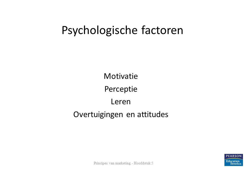 Psychologische factoren
