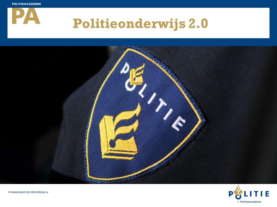 Politieonderwijs 2.0