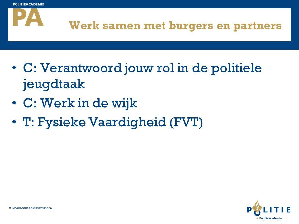 Werk samen met burgers en partners