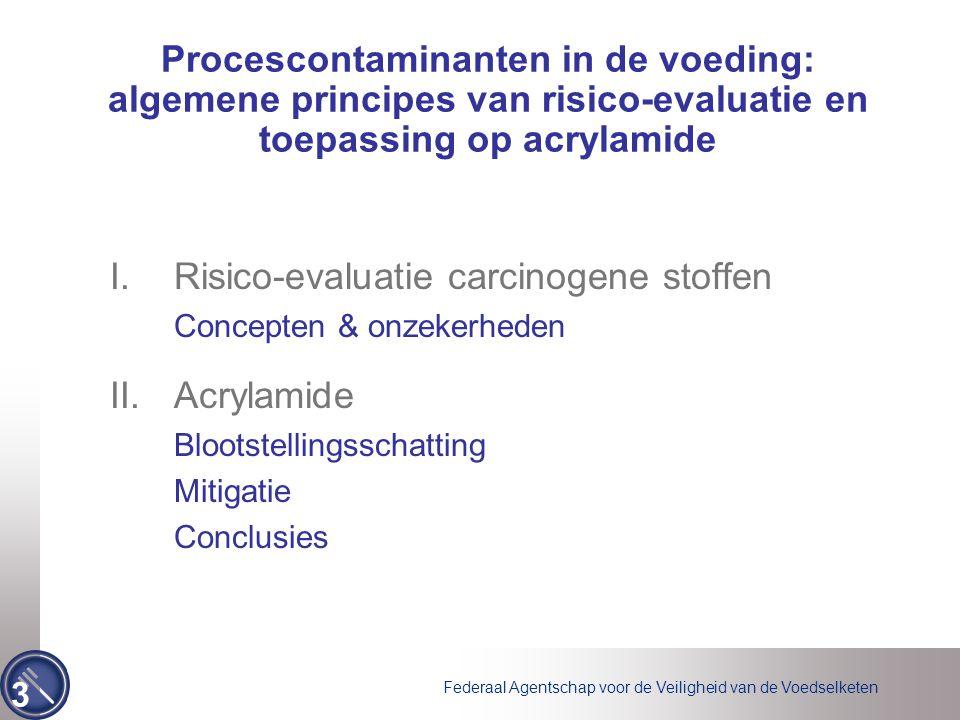 Risico-evaluatie carcinogene stoffen Acrylamide