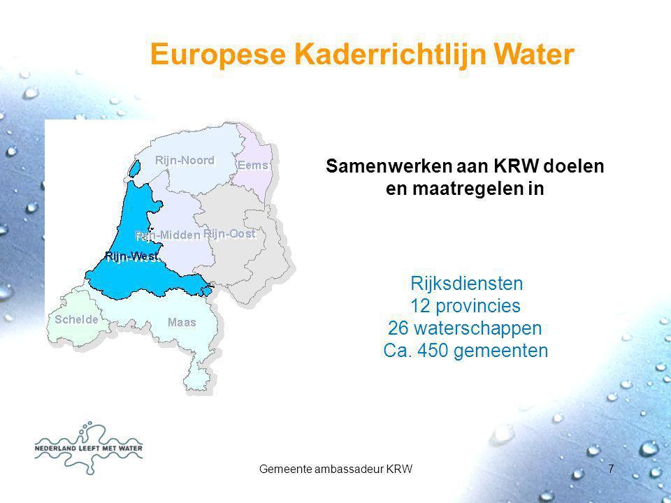 Europese Kaderrichtlijn Water