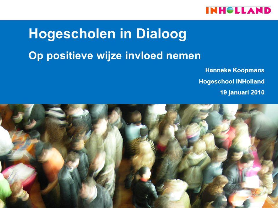 Hogescholen in Dialoog