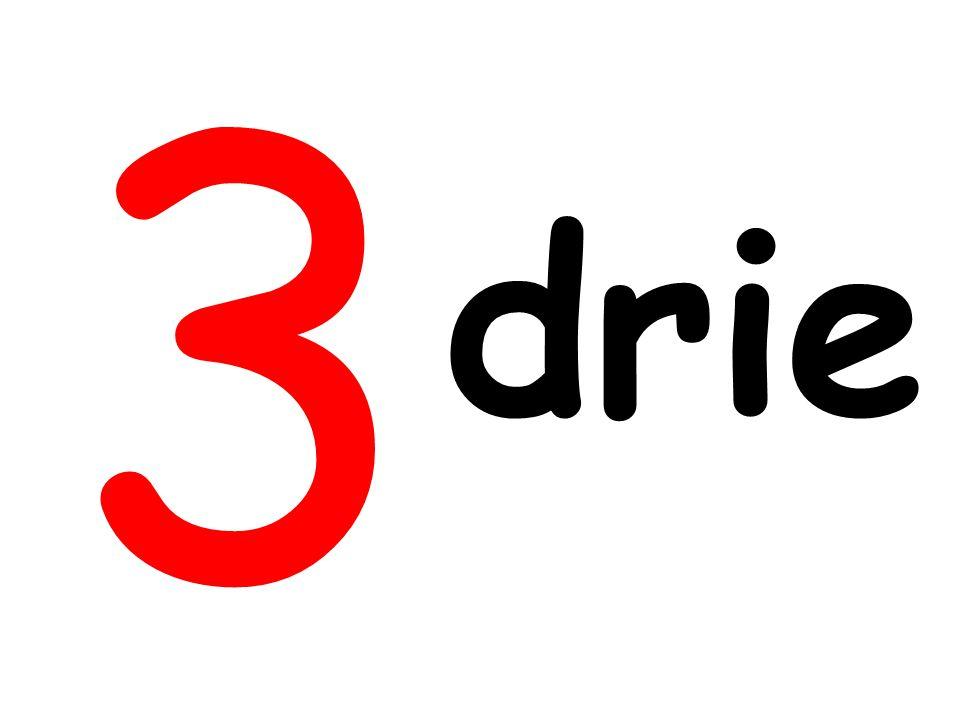 3 drie