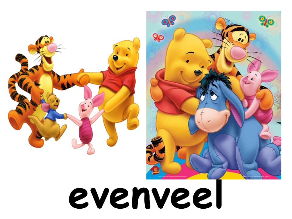 evenveel