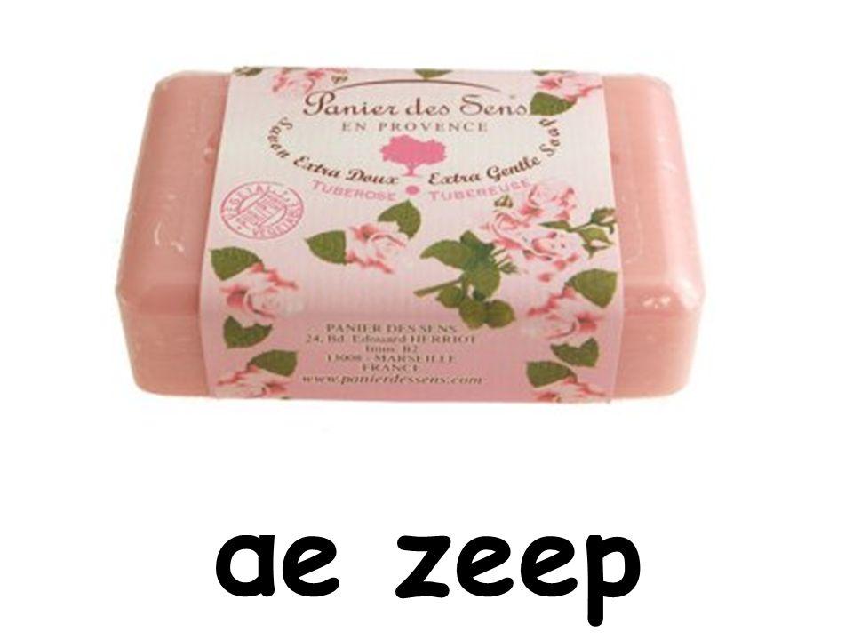 de zeep