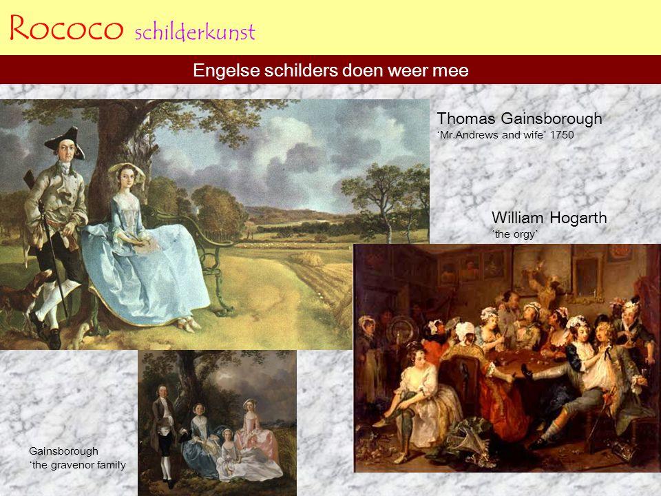 Engelse schilders doen weer mee
