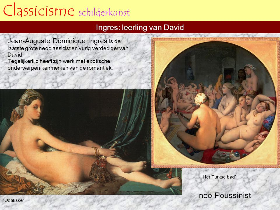 Classicisme schilderkunst