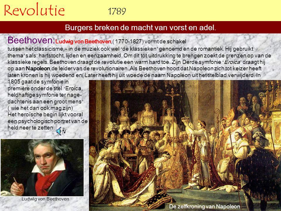 Burgers breken de macht van vorst en adel.