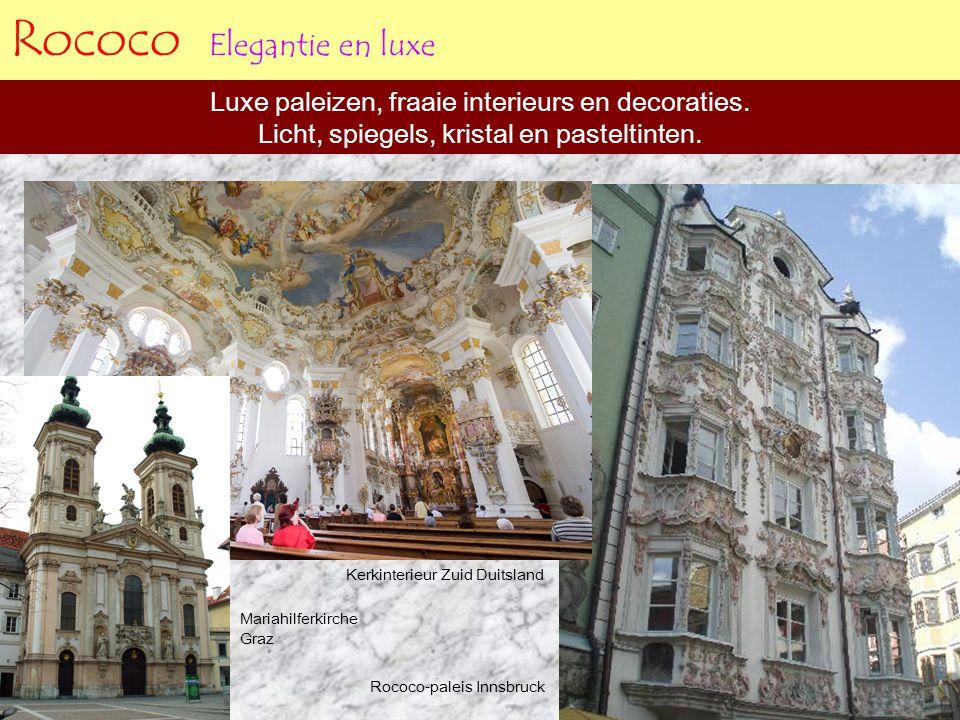 Rococo Elegantie en luxe