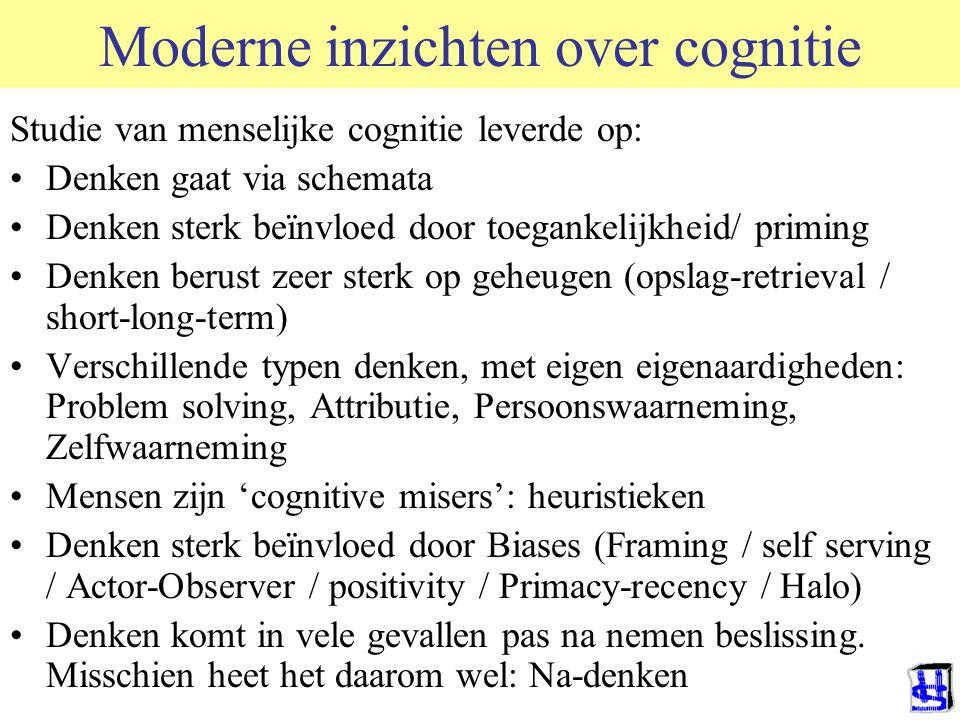 Moderne inzichten over cognitie