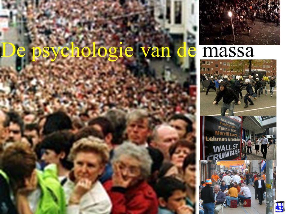 De psychologie van de massa