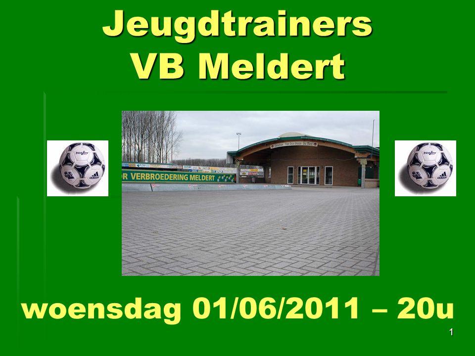 Jeugdtrainers VB Meldert