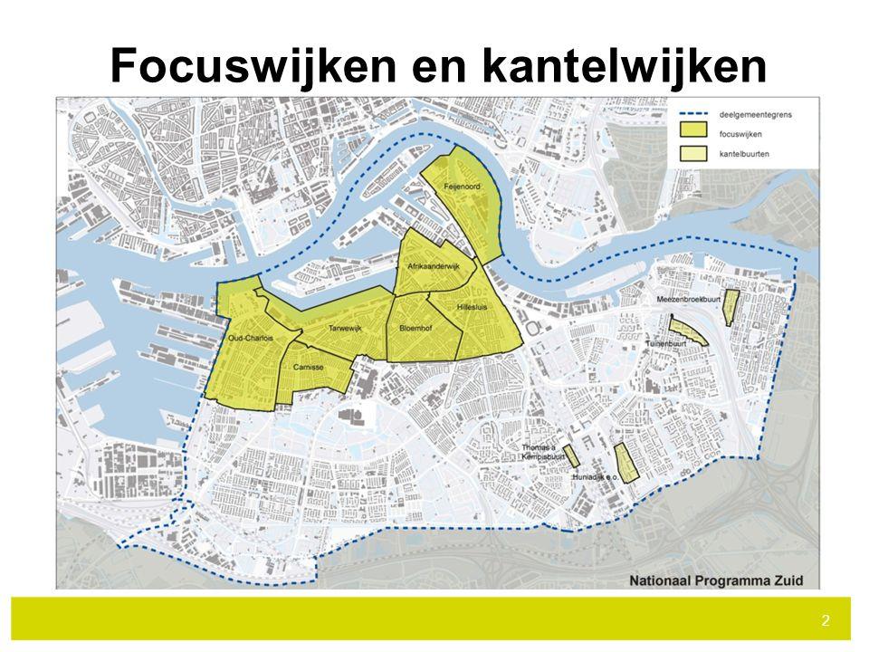 Focuswijken en kantelwijken