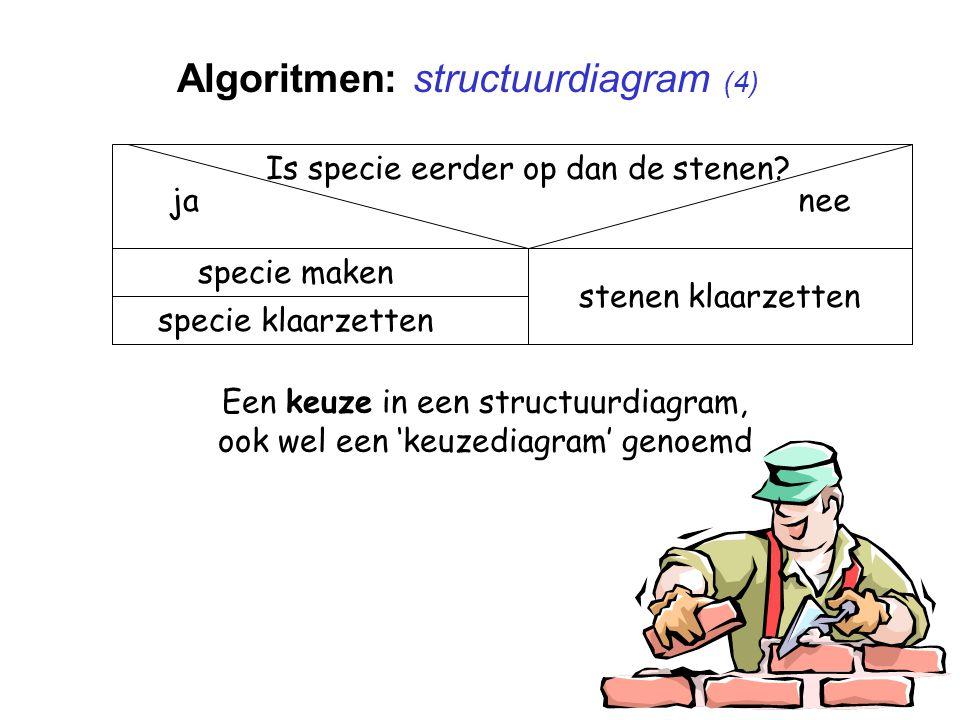 Algoritmen: structuurdiagram (4)