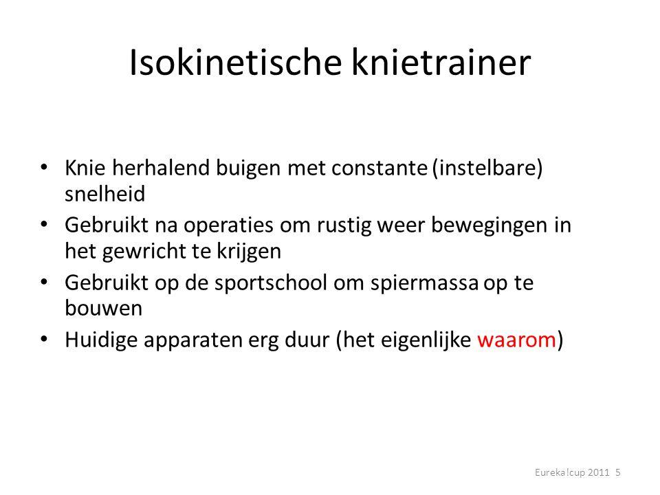 Isokinetische knietrainer