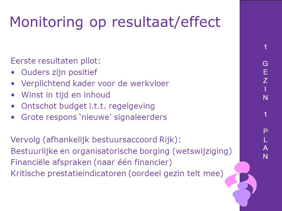 Monitoring op resultaat/effect