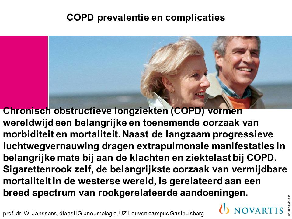 COPD prevalentie en complicaties