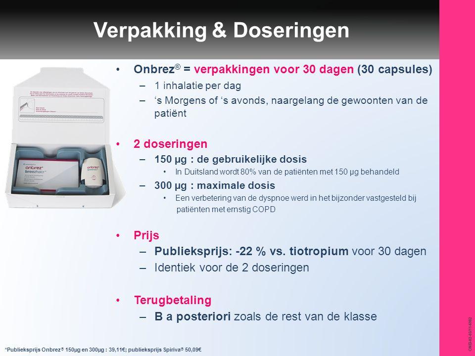 Verpakking & Doseringen