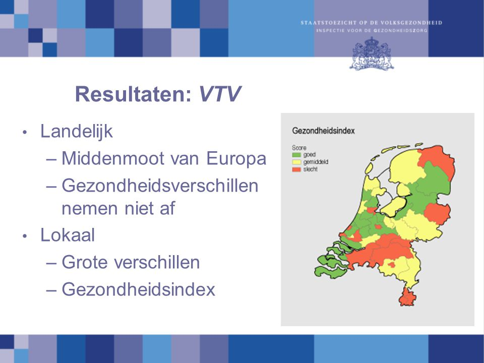 Resultaten: VTV Landelijk Middenmoot van Europa