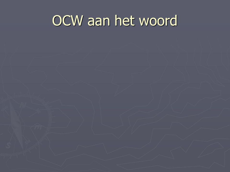 OCW aan het woord