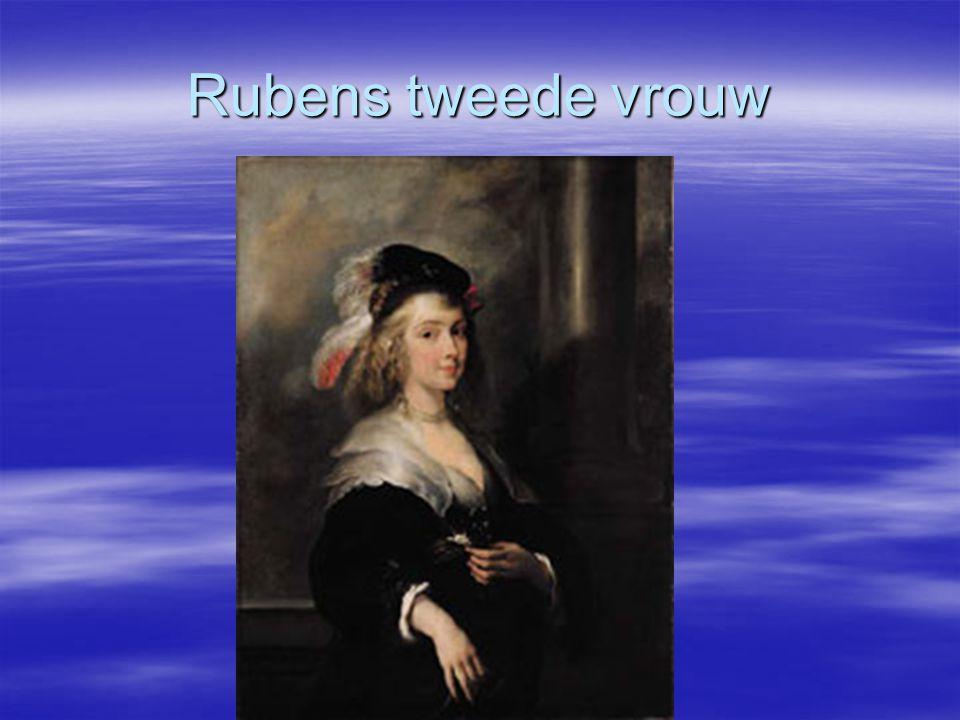 Rubens tweede vrouw