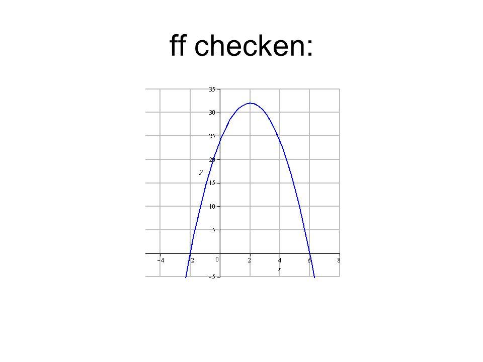 ff checken: