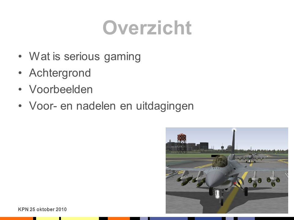 Overzicht Wat is serious gaming Achtergrond Voorbeelden