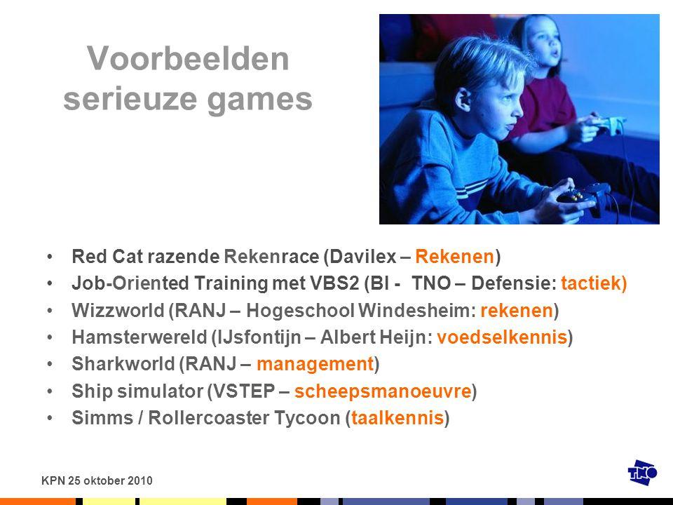 Voorbeelden serieuze games