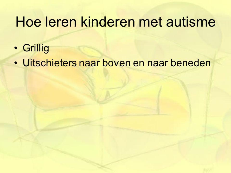 Hoe leren kinderen met autisme