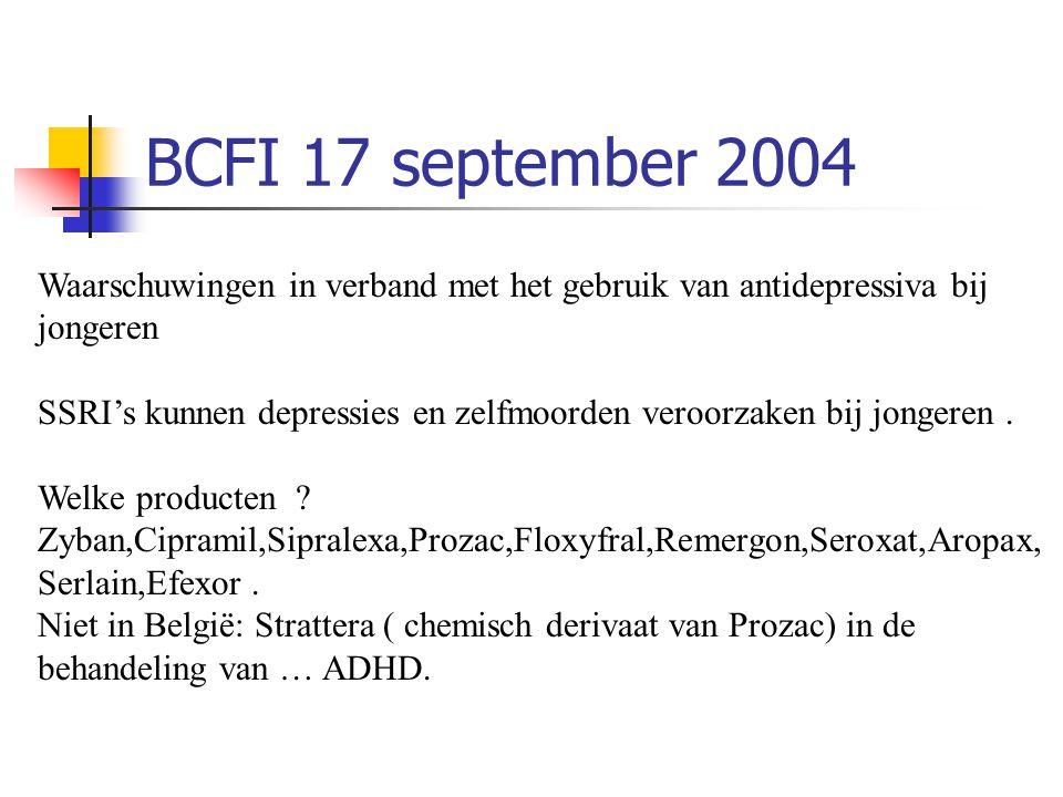 BCFI 17 september 2004
