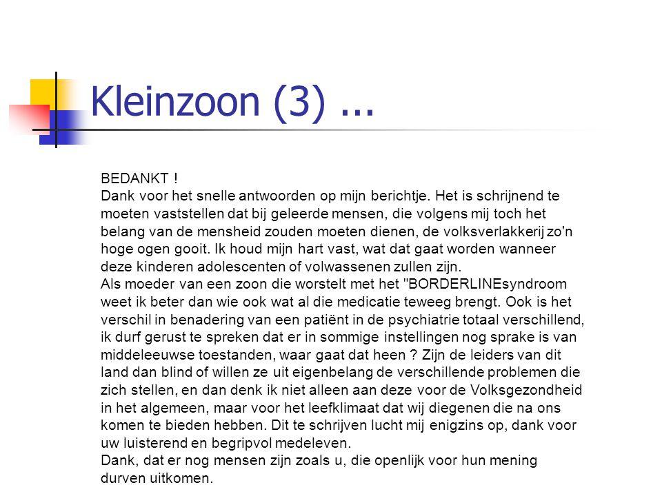 Kleinzoon (3) ... BEDANKT !