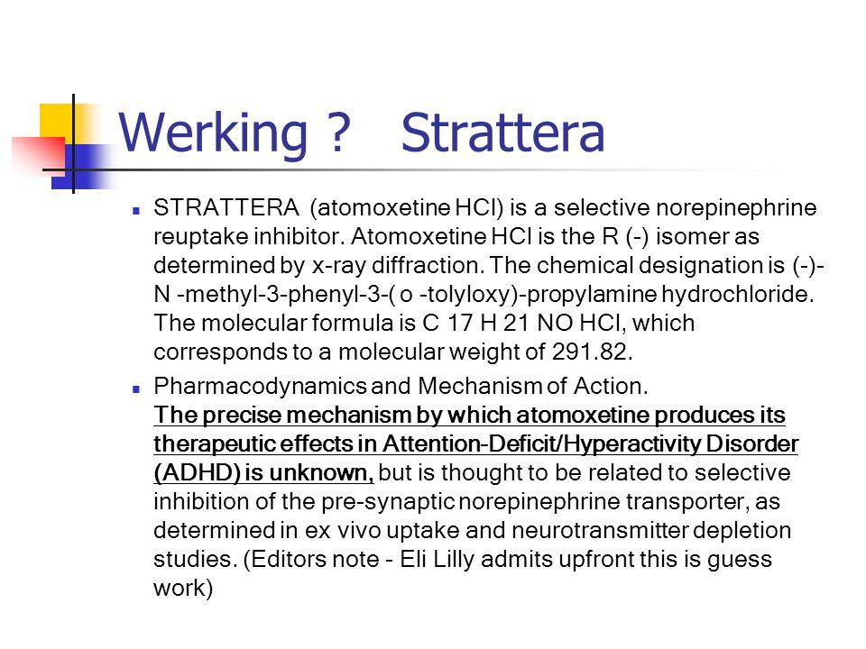 Werking Strattera
